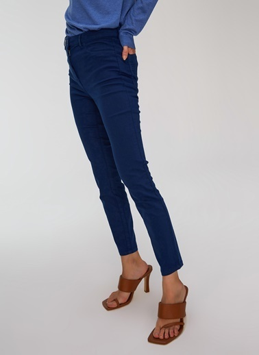 People By Fabrika Skinny Pantolon Lacivert